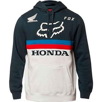 9d7b18374f Fox Pullover Hoodie Honda Navy/White M: Amazon.it: Auto e Moto