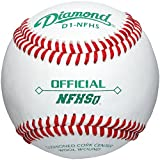 Diamond D1-Nfhs Leather Baseballs 12 Ball Pack