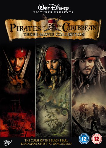Pirates Of The Caribbean Trilogy Dvd Amazoncouk Keith Richards