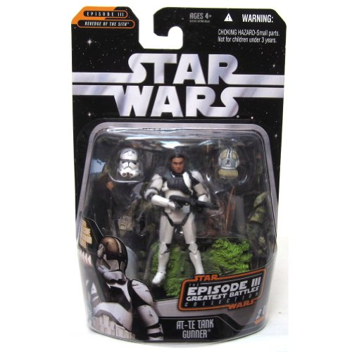 Hasbro Star Wars Greatest Hits Basic Figure Episode 3 at-TE Gunner ()