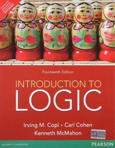 introduction to logic book pdf