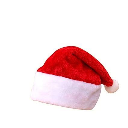 markcur Gorro de Navidad Papá Noel Gorras Gorro De Papá Noel Navidad Papá  Noel Invierno Gorro 77d20984fb2