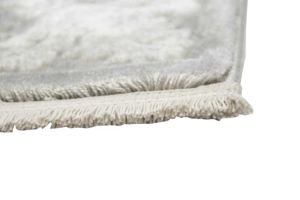 Designer Wollteppich Klassische Ornamente in Grau Creme Creme Creme Größe 160x230 cm B07MZY723B Teppiche f02eed