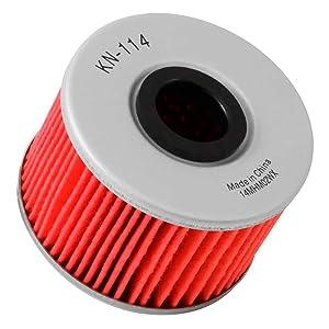 K&N Engineering Single K&N KN-116 Oil Filter Powersports Cartridge