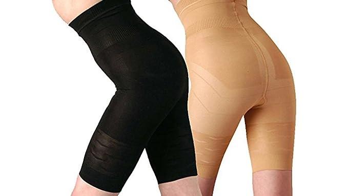 laamei Mujer Bragas Braguitas Moldeadora Faja Reductora Adelgazantes Bodysuit de Cintura Shapewear Ropa Interior Reductora con