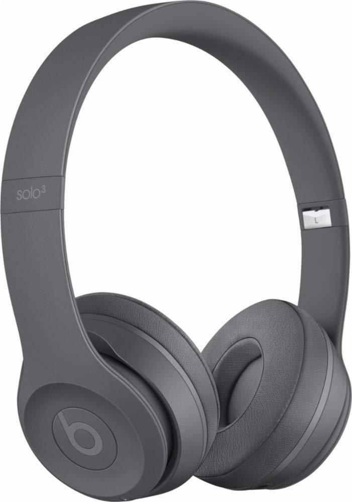 Beats Solo3 Wireless On-Ear Headphones - Neighborhood Collection - Asphalt Gray (Renewed) by Beats (Image #1)