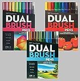Tombow Dual Brush Pen Art Markers, Landscape with Tombow Dual Brush Pen Art Markers, Bright and Tombow Dual Brush Pen Art Markers, Primary