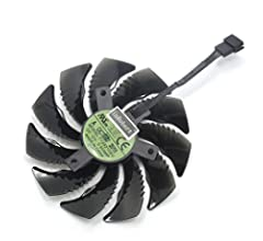 inRobert T129215SU - Ventilador de refrigeración para Tarjeta gráfica Gigabyte GTX 1050 Ti RX 480 470 570 580 GTX 1060 G1 Fan-AB