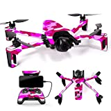 Cheap MightySkins Skin for Parrot Anafi Drone – Pink Camo | Protective, Durable, and Unique Vinyl Decal wrap Cover | Easy to Apply, Remove, and Change Styles | Made in The USA