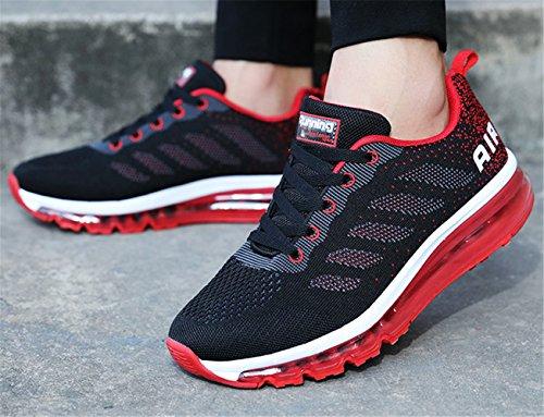 Running Unisex Para Rojo Zapatillas de mogeek ZxnYvE
