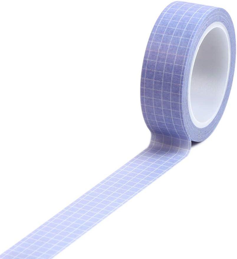Black Grid Washi Tape Pattern Self-adhesive Tape  15mm Wide x 5M Long No.12588