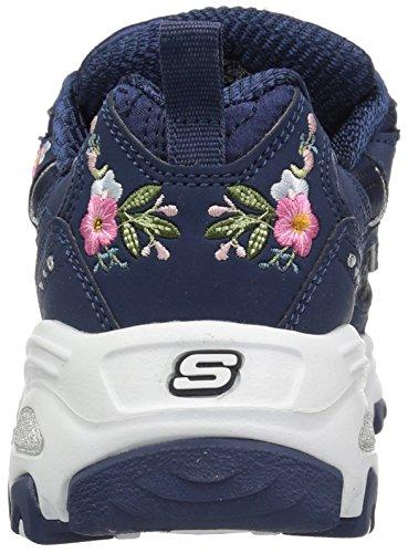 Skechers Women's D'Lites-Bright Blossoms Sneaker Navy browse visit sale online outlet huge surprise cheap 2014 discounts sale online rOaWwub