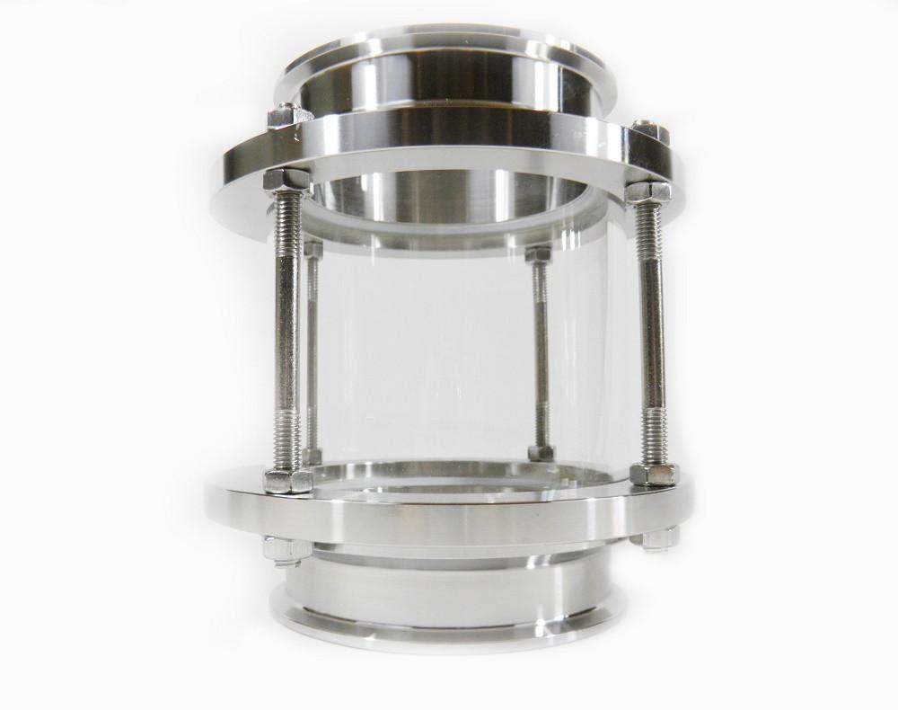 4 Tri Clamp Sight Glass with Temp Resist Borosilicate Glass
