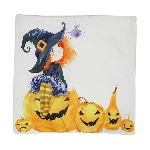 UONQD Halloween Pillow Case Sofa Waist Throw Cushion