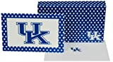 NCAA Kentucky Wildcats Polka Dot Design Stationary Note Card Set