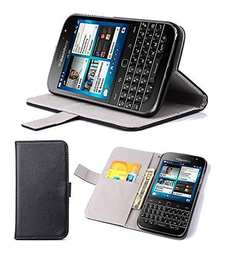 Supremery Blackberry Classic Q20 Smartphone Hülle Tasche Flip Case Cover Zubehör mit Standfunktion für Blackberry Classic Q20 Smartphone