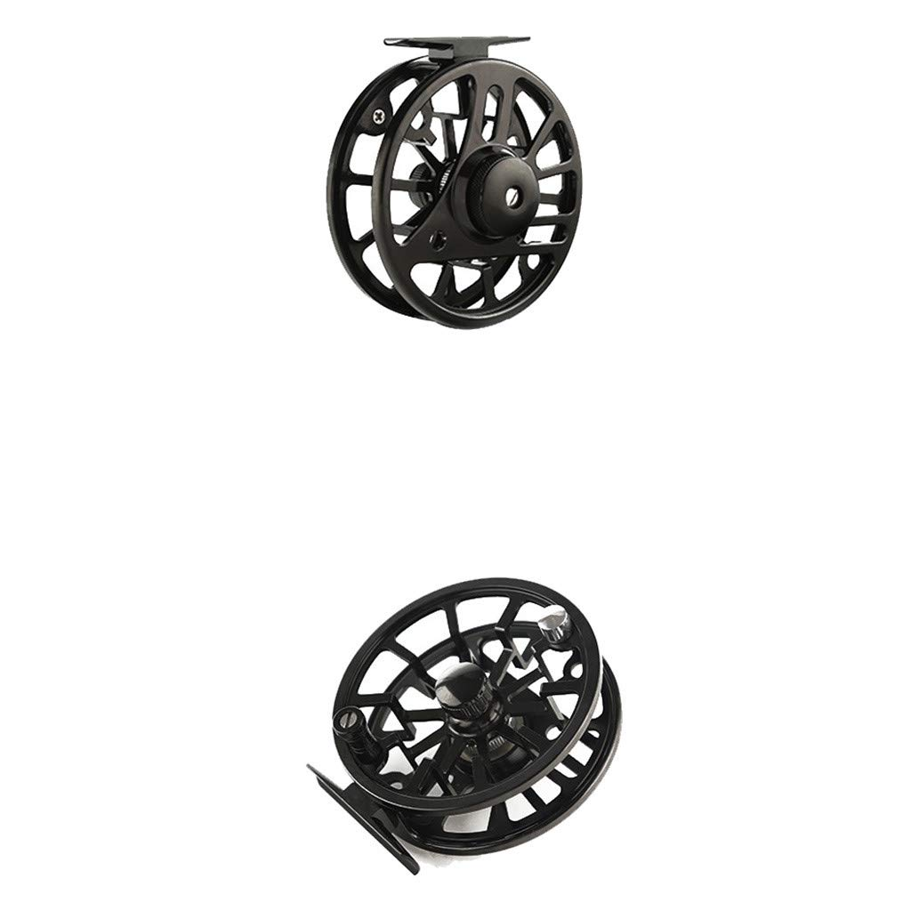 SMyFone Fly Reel 3/4/5/6/7/8WF Large Arbor Blue/Black/Green Aluminum Fly Fishing Reel