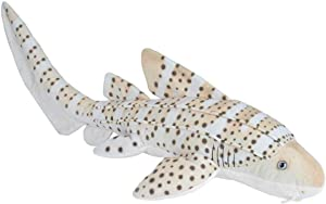 Wild Republic Zebra Shark Plush, Stuffed Animal, Plush Toy, Gifts for Kids, Living Ocean 30""