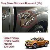 Powerwarauto Chrome Tank Cover Fuel Cap for