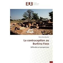 La contraception au Burkina Faso: Difficultés et perspectives