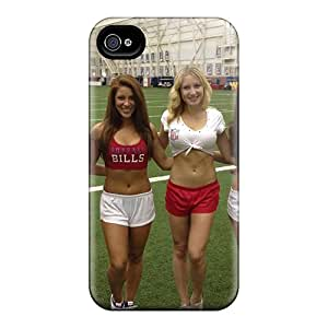 QJzrP17565xZQUY Janehouse Buffalo Bills Cheerleaders Outfit Durable Iphone 4/4s Tpu Flexible Soft Case