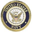 Uniformed U.S. Navy Emblem Die Cut