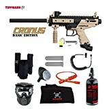 MAddog Tippmann Cronus Basic Tactical Private HPA Paintball Gun Package – Black/Tan For Sale