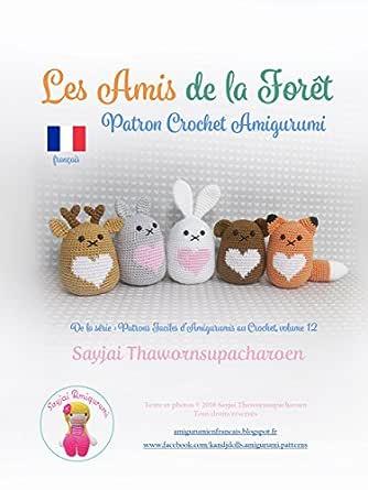 Tutoriel PDF en Francais/Anglais/Allemand lapin ballerine au ... | 445x334