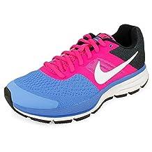 Nike Air Pegasus+ 30 (Kids) - Distance Blue / White-Pink Flash-Black, 7 M US