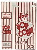 """1e close-top popcorn box 100 per case. Approximate size: 4"""" x 2"""" x 6.5""""."""