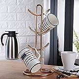 HUIYUE Mug Holder,Cup Holder,Household Mug Holder,European Style Drying Cup Holder Mug Hanging Cup Holder-B 39x18cm(15x7inch)