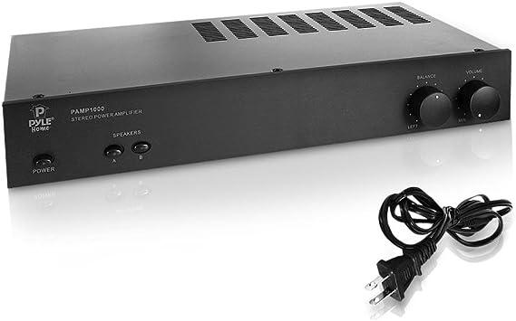 Digital Stereo Power Amplifier-  Dual Channel Amp Design