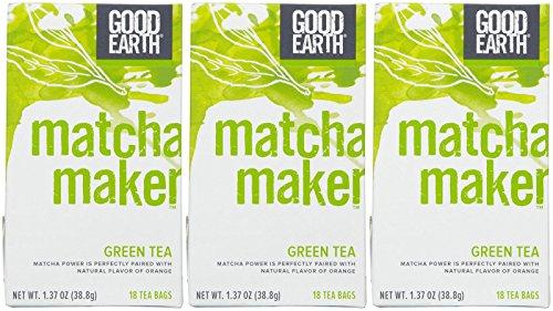 Good Earth Matcha Sencha Orange