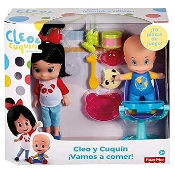 Mattel Cleo y Cuquín ¡Vamos a Comer, (1011143232)