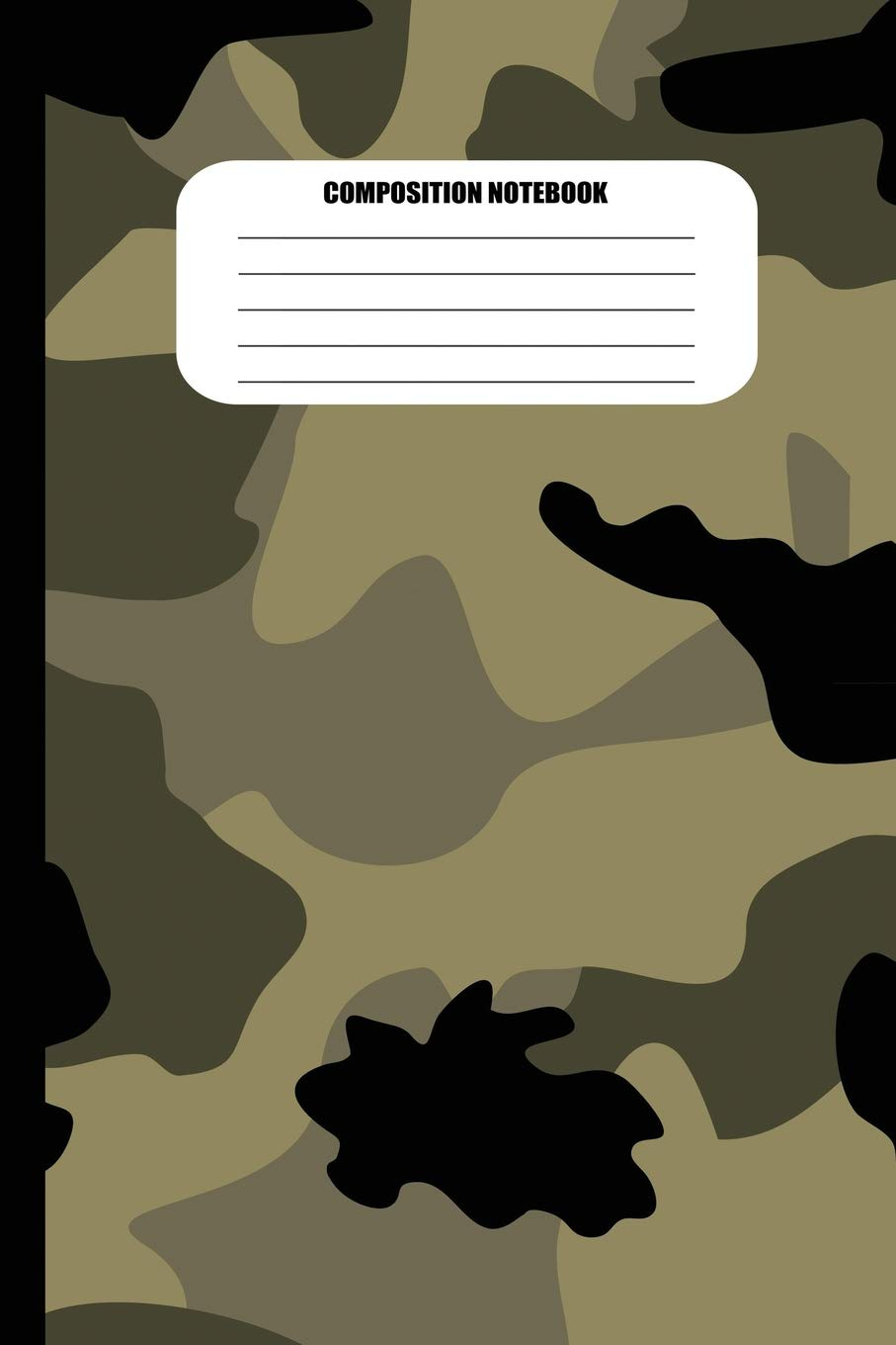 Amazon com: Composition Notebook: Camouflage (Military