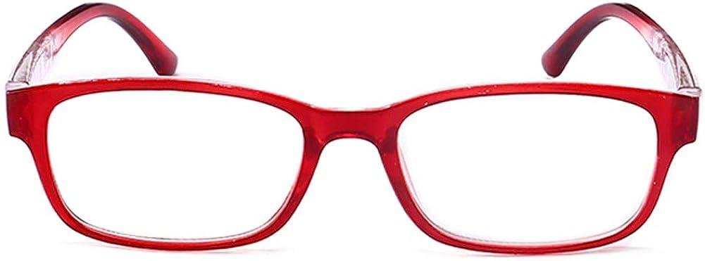 KOOSUFA Lesebrille Damen Herren Lesehilfen Augenoptik Vintage Retro Qualit/ät Rechteckig Vollrandbrille Arbeitsplatzbrille mit St/ärke 1.0 1.5 2.0 2.5 3.0 3.5 4.0