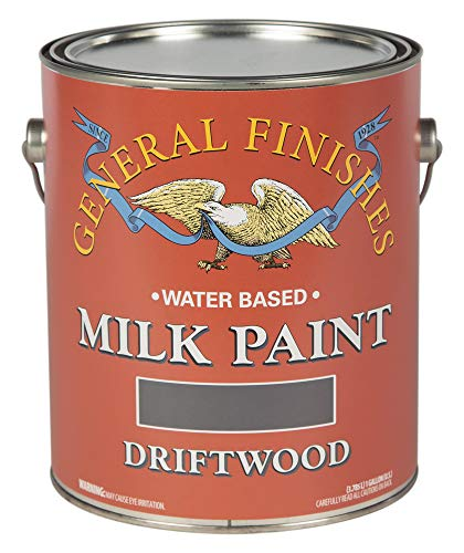 General Finishes GD Water Based Milk Paint, 1 Gallon, Driftwood ()