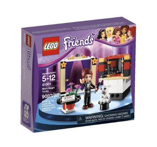 Lego Friends Birthday Gift Bundle: Building Sets Olivia 30115 & Mia 41001 Plus Lego Friends Pencils, Reusable Tote Bag & Tissue Paper