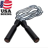 STING Jump Rope – Speed Jumping, Skipping Rope, Boxing, Crossfit, Fitness and Cardio – Black, 9 ft For Sale
