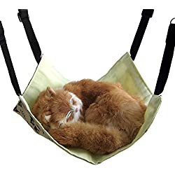 Alfie Pet by Petoga Couture - Erica Cat All-Season Hammock - Color: White, Size: Medium