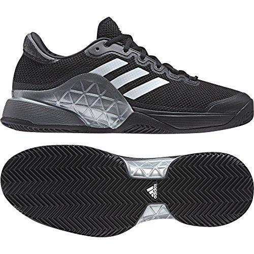adidas Barricade 2017 Clay - Zapatillas de tenis Hombre Negro (Negbas / Nocmét / Ftwbla)