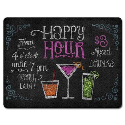 Happy Hour Large Glass Cutting product image