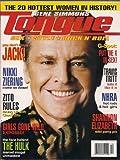 Gene Simmons Tongue Magazine - Jack Nicholson - Girls Gone Wild Joe Francis - Sandra Bernhardt - Chuck Zito - Shannon Elizabeth - Travis Tritt (Spring, 2003)
