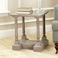 Safavieh American Homes Collection Endora Vintage Grey End Table