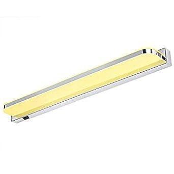 Awesome Asvert LED Spiegelfrontleuchte 9W Wandlampen Vanity Leuchten Badezimmer  Leuchten über Spiegel Lampe, Warmes Weiß