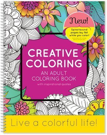 SDI Creative Coloring - an Adult Coloring Book with Inspirational Quotes - 8.5