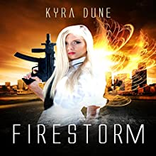 Firestorm: Crossfire, Book 2 Audiobook by Kyra Dune Narrated by Joni Silva