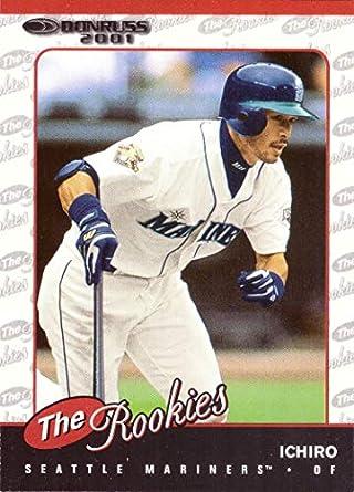 Amazoncom 2001 Donruss The Rookies Baseball R104 Ichiro