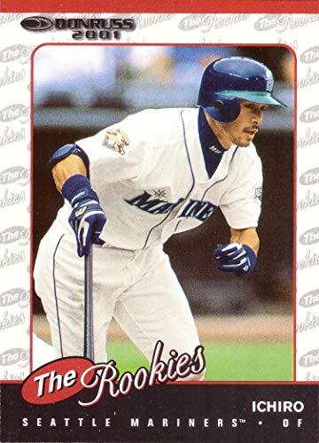 2001 Donruss the Rookies Baseball #R104 Ichiro Suzuki Rookie -