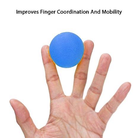 Foonee - Pelota de estrés para adultos, aumenta la flexibilidad de ...